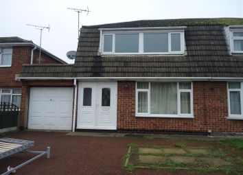 Thumbnail 3 bed semi-detached house to rent in Jordan Avenue, Stretton, Burton-On-Trent