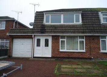 Thumbnail 3 bed semi-detached house to rent in Jordan Avenue, Stretton, Burton-On-Trent