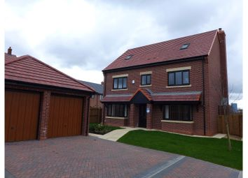 Thumbnail 5 bed detached house for sale in Hassall Rd, Alsager