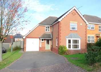 Thumbnail 4 bed detached house to rent in Haggs Meadow, Warndon, Worcester