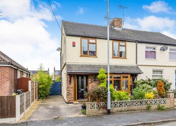 Thumbnail 2 bed semi-detached house for sale in Victoria Avenue, Haslington, Crewe, Cheshire