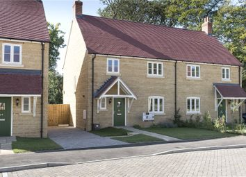 Thumbnail 3 bed semi-detached house for sale in Plot 6, Woodlands, Marriott Close, Wootton-By-Woodstock, Oxfordshire