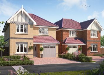 Thumbnail 4 bed detached house for sale in Queen's Place, Fairfax Close, Caversham