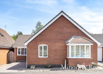 Thumbnail 2 bed detached bungalow for sale in Barnard Close, Gorleston, Great Yarmouth