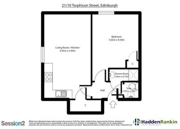 Thumbnail 1 bedroom flat to rent in Torphichen Place, Edinburgh