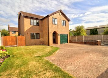 Thumbnail 4 bed detached house for sale in Fir Tree Lane, Thorpe Willoughby, Selby