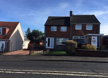 Thumbnail 2 bedroom semi-detached house to rent in Woodhill Road, Bishopbriggs, Glasgow G64,