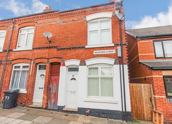 Thumbnail 3 bed terraced house for sale in Vaughan Street, Leicester