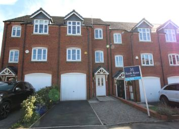 Thumbnail 4 bed terraced house for sale in The Green, Hyde, Cheshire