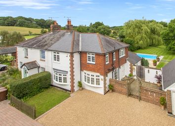 Thumbnail 3 bed semi-detached house for sale in Rose Cottages, Tandridge Lane, Tandridge, Oxted