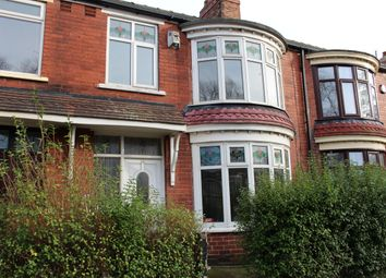 Thumbnail 3 bed terraced house to rent in Park Vale Road, Middlesbrough