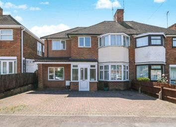 Thumbnail 5 bedroom semi-detached house for sale in Wicklow Drive, Leicester