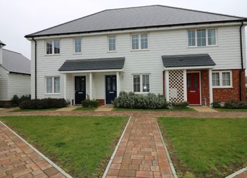 Thumbnail 2 bed terraced house for sale in Wagtail Walk, Finberry, Ashford
