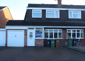 Thumbnail 3 bedroom semi-detached house to rent in Whitethorn Crescent, Streetly, Sutton Coldfield