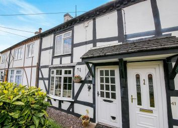 Thumbnail 2 bed terraced house for sale in Coppice Road, Willaston, Nantwich