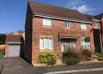 Thumbnail 4 bedroom detached house for sale in Acorn Close, Miskin, Pontyclun