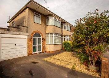 Thumbnail 3 bedroom semi-detached house for sale in Bromley Drive, Bromley Heath, Bristol