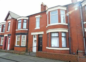 Thumbnail 3 bed flat for sale in Crondall Street, South Shields