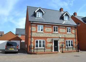 Thumbnail 5 bed detached house for sale in Shears Drive, Amesbury, Salisbury