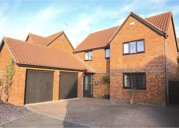 Thumbnail 3 bed detached house for sale in Chillery Leys, Willen
