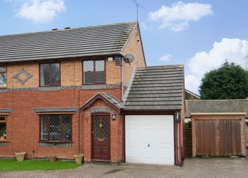 Thumbnail 2 bed semi-detached house to rent in Scholars Gate, Brereton, Rugeley