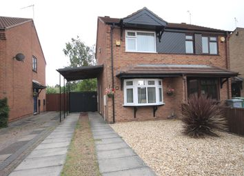 Thumbnail 2 bed semi-detached house for sale in Heron Way, Balderton, Newark, Nottinghamshire.