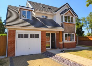 Thumbnail 5 bed detached house for sale in St. Pauls Close, Pickley Green, Leigh