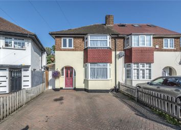Pine Gardens, Ruislip, Middlesex HA4. 3 bed semi-detached house