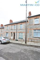 Thumbnail 4 bedroom terraced house to rent in Harvey Street, Barry