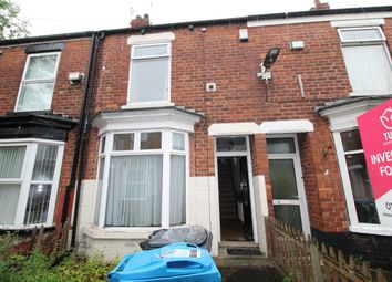 Thumbnail 2 bed terraced house to rent in Bethnal Green, Beverley Road, Hull