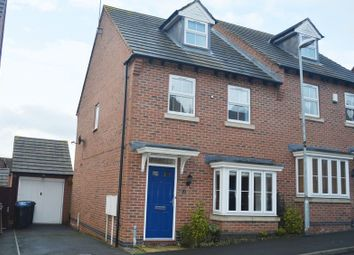 Thumbnail 3 bed semi-detached house for sale in Columbus Lane, Earl Shilton, Leicester
