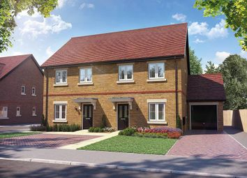 "Thumbnail 3 bed semi-detached house for sale in ""Plot 4"" at Lewes Road, Ringmer, Lewes"