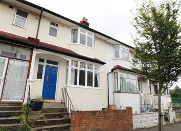 Thumbnail 4 bed terraced house to rent in Boundary Road, Colliers Wood, London