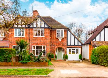 Thumbnail 4 bed semi-detached house for sale in Revell Road, Norbiton, Kingston Upon Thames