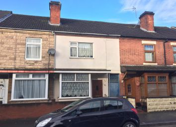 Thumbnail 3 bed terraced house for sale in Hunter Street, Burton-On-Trent