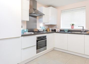 "Thumbnail 2 bedroom terraced house for sale in ""Wilford"" at Barley Fields, Thornbury, Bristol"