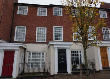 Thumbnail 4 bed terraced house for sale in West Street, Warwick
