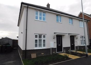 Thumbnail 3 bed semi-detached house for sale in Sorley Road, Stowmarket