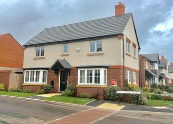 Thumbnail 3 bed detached house to rent in Sunflower Street, Lichfield