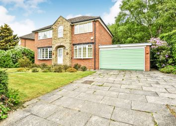 Thumbnail 4 bed detached house for sale in Foxhill Crescent, Weetwood, Leeds