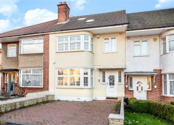 Thumbnail 4 bed terraced house for sale in Victoria Road, South Ruislip, Middlesex