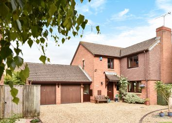 Thumbnail 4 bedroom detached house for sale in Rawlings Close, South Marston, Swindon