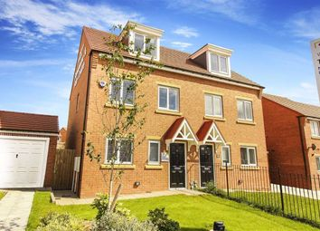 Thumbnail 3 bed terraced house for sale in Burwell Avenue, West Denton, Newcastle Upon Tyne