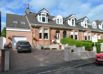 Thumbnail 4 bed end terrace house for sale in New Edinburgh Road, Uddingston, Glasgow