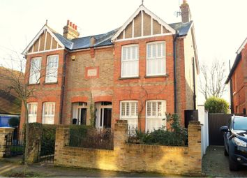 Thumbnail 4 bedroom semi-detached house for sale in Briscoe Road, Hoddesdon