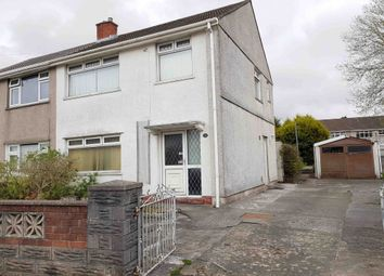 Thumbnail 3 bed semi-detached house for sale in Cameron Place, Swansea
