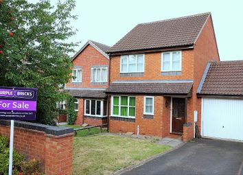 Thumbnail 3 bed link-detached house for sale in St. Fremund Way, Leamington Spa