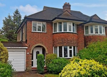 Thumbnail 3 bed semi-detached house for sale in Scotsdale Close, Cheam