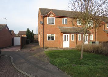 Thumbnail 3 bed semi-detached house for sale in Porthcawl Close, Grantham
