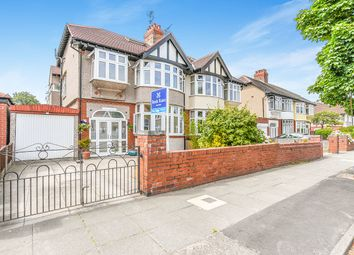 Thumbnail 5 bed semi-detached house for sale in Manor Road, Crosby, Liverpool